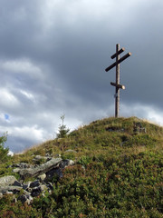 Cross on the hill