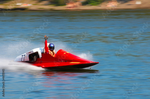 Boat racing speed - 4611840