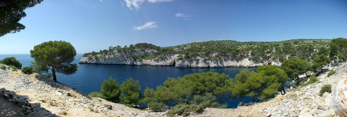Panoramique Calanque de Port Mio
