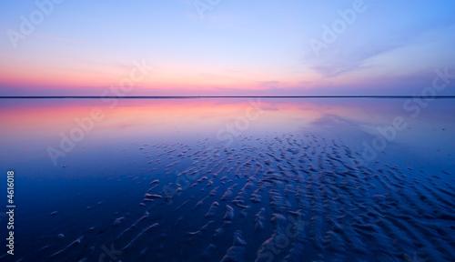 Leinwanddruck Bild beautiful night at the beach