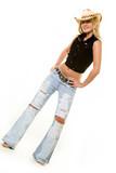 Cowgirl attire poster