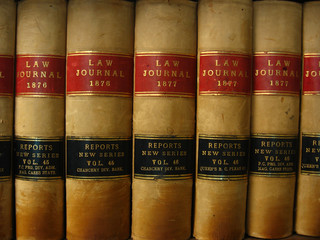 circa. 1876-1877 Antique Law Books