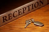 Fototapety Reception & key