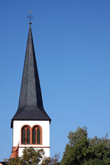 Trier church steeple