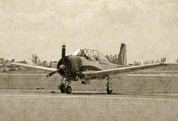 World War II era airplane