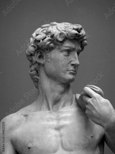 Leinwanddruck Bild Museum Replica David 1