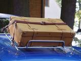 Koffer auf Oldtimer