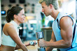 Paar beim Fitness