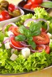 Fresh vegetarian salad
