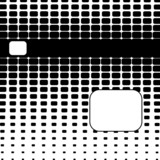 Rounded Halftone Abstract Background poster