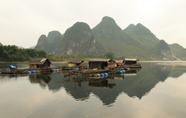 Landscape near Guilin, Southern China