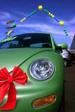 Car Christmas Sale at dealership poster