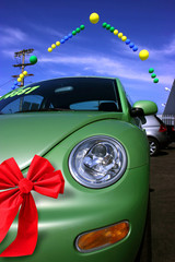 Car Christmas Sale at dealership