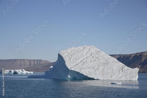 Papiers peints Pôle Eisberg in der Arktis