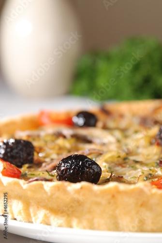 fresh onion tart