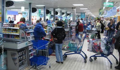 Caisse supermarché - 4652492
