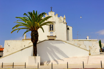 Portugal, Algarve, Albufeira: Church