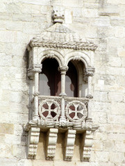 Balcony of Belém tower