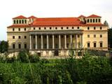 esterhazy palace in austria poster