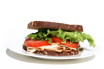 Sandwich - Turkey - Healthy