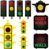 traffic signals poster