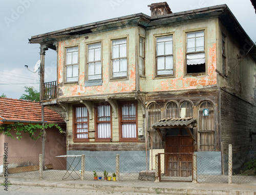 Old Greek houses in Bartin, Turkey