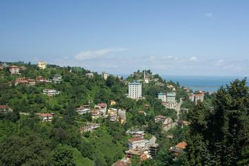 Rize city, Black Sea, Turkey