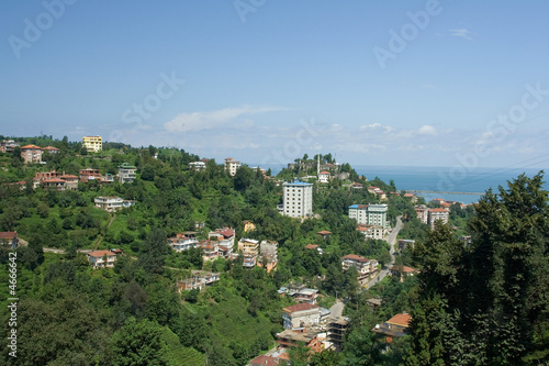 Rize city, Black Sea, Turkey