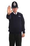Policejní důstojník - Stop