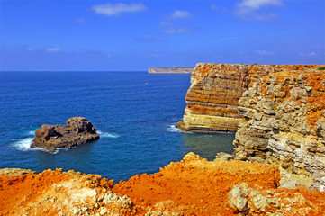 Portugal, Algarve, Sagres: Wonderful coastline