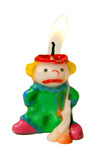 Melting Clown Candle poster