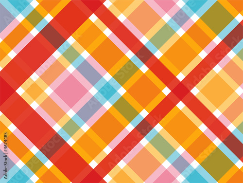 candy red and pink diagonal plaid pattern