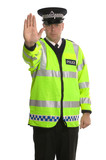 Policie provoz zastavit