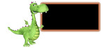 Dragon Cartoon - Teaching poster