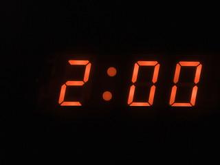 two o clock