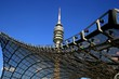 Münchner Olympiaturm mit Dach - 4683810