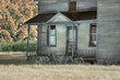 Abandoned Farmhouse Porch
