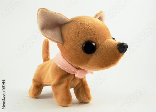 Leinwanddruck Bild Soft toy dog