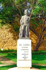 Portugal, Algarve, Lagos: Statue of Gil Eannes