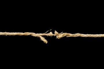 The cordage broken soon