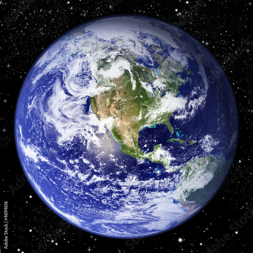 Leinwanddruck Bild Planet Earth