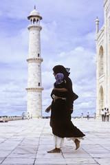 Taj Mahal woman-3b