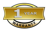 1 year warranty seal belt poster