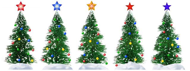 Fur-tree and star