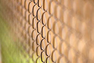 Wire netting - depth of field