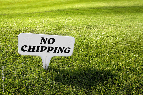 No chipping