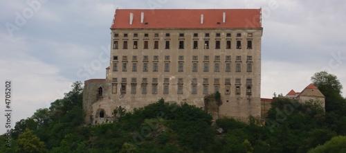 castle in Plumlov