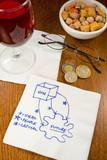Cocktail Napkin Ideas poster