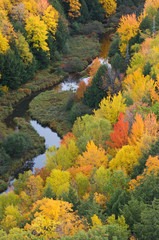 Autumn Porcupine Mountains
