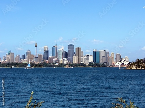 canvas print picture Skyline Sydney